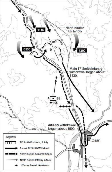 GENERAL OVERVIEW OF BATTLE AT OSAN