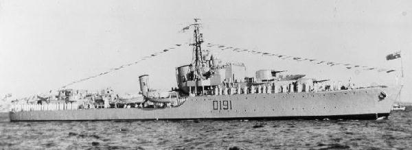 Australian Destroyer HMAS