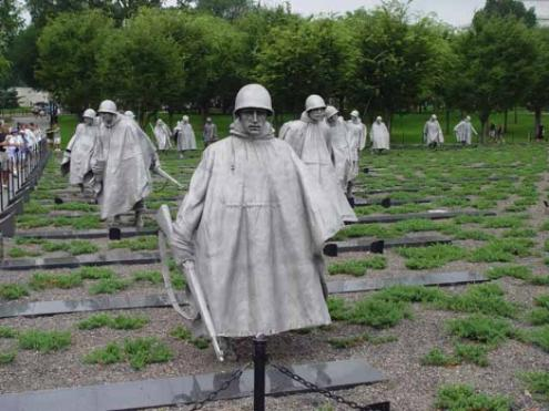 KOREAN WAR MEMORIAL-WASHINGTON, D.C.-GROUND VIEW