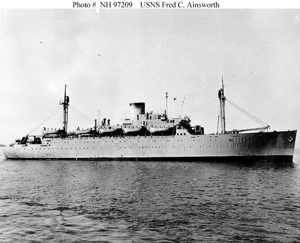 TROOPSHIP USNS AINSWORTH
